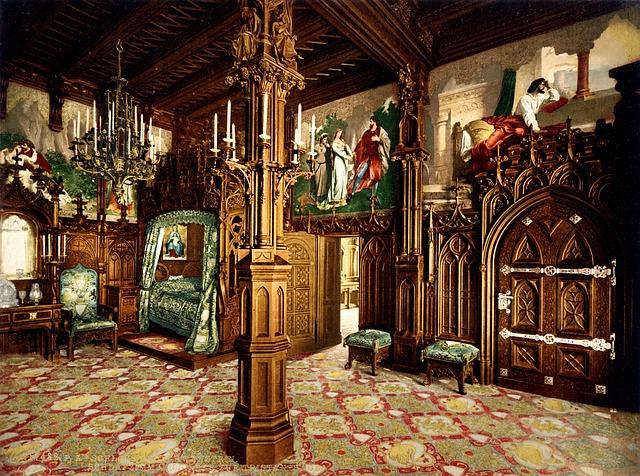 ložnice hrad