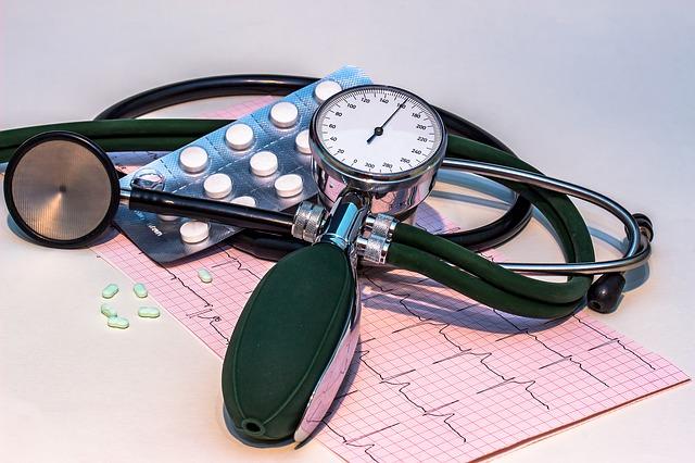 monitor krevního tlaku a léky