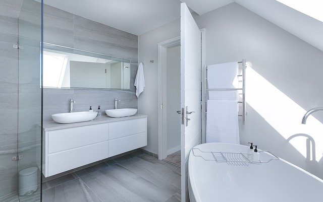 moderní minimalistická koupelna