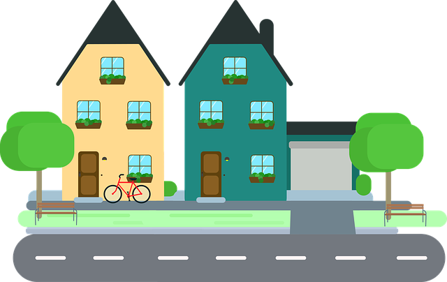 kolo před domem