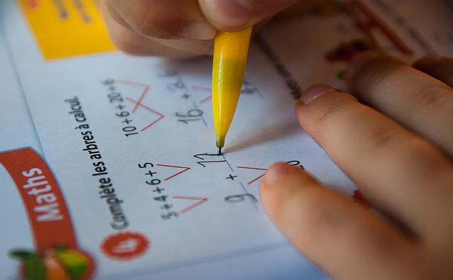 počítání v první třídě